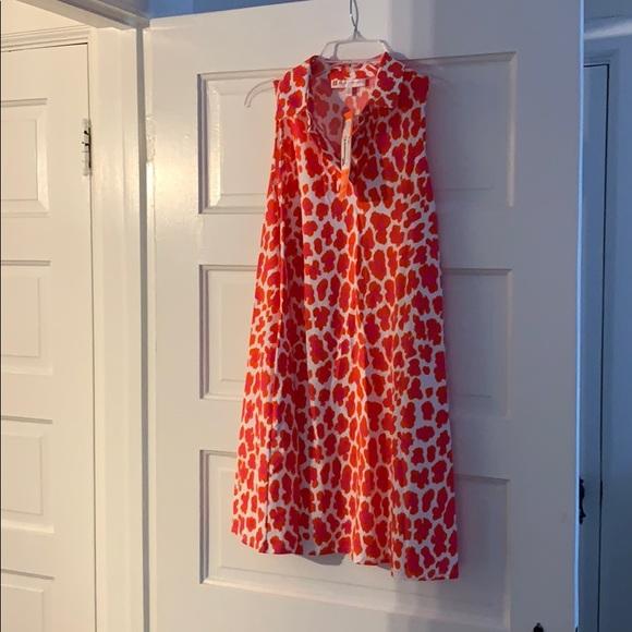 Jude Connally sleeveless swing dress